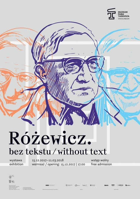 różewicz bez tekstu plakat