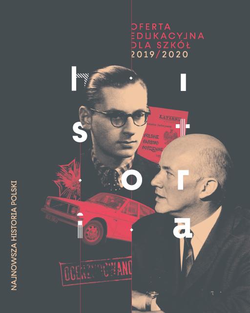 Najnowsza historia Polski - katalog okładka