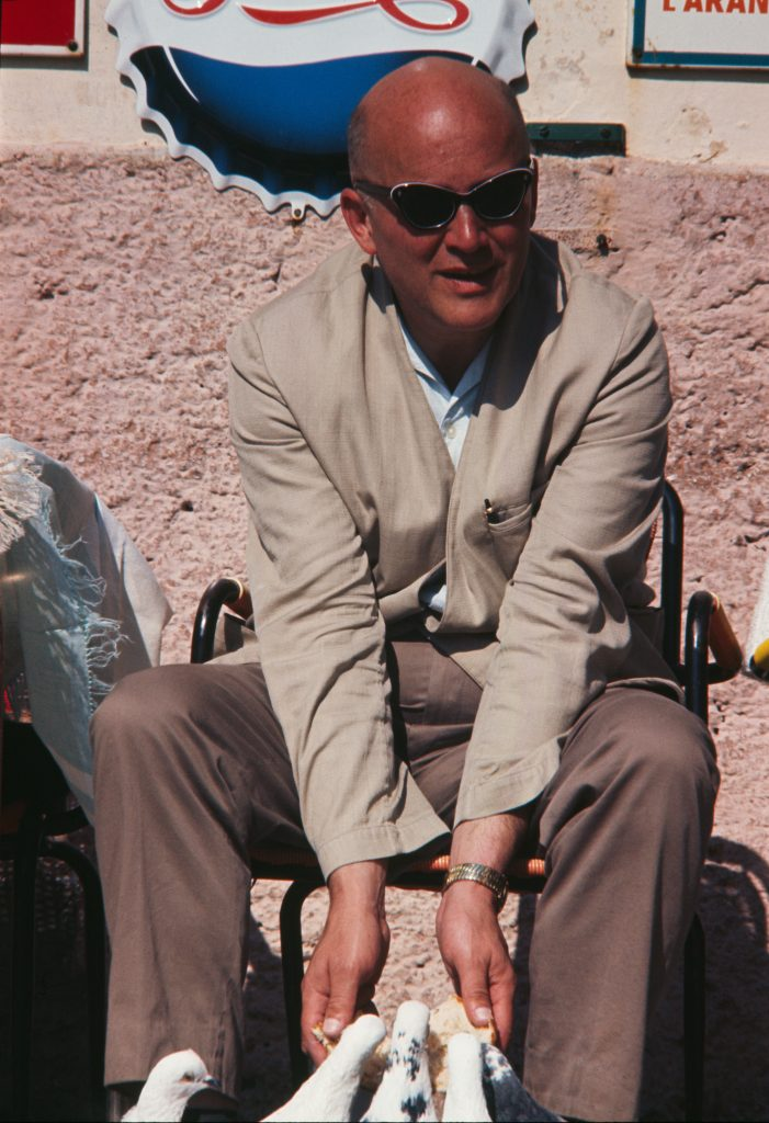 Jan Nowak-Jezioranski, Wlochy 1963-64, fot. Jadwiga Nowak-Jezioranska (Archiwum Jana Nowaka-Jezioranskiego. Zaklad Narodowy im. Ossolinskich)