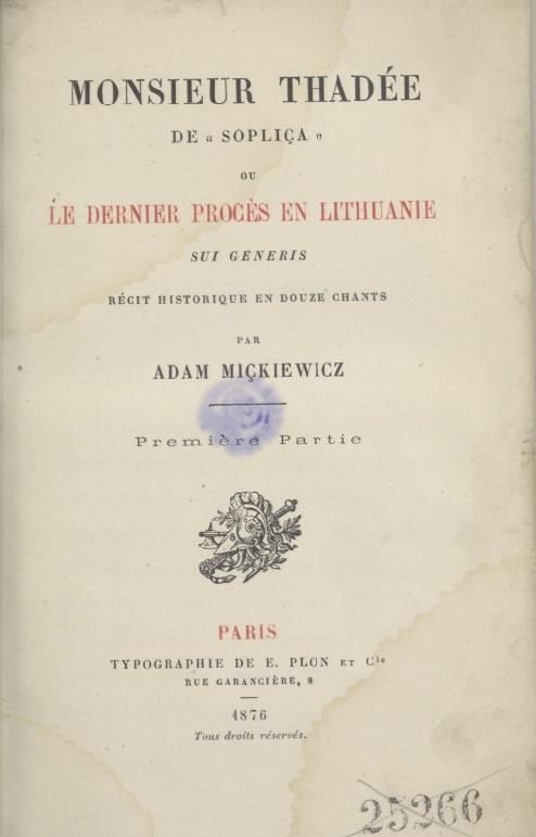 1876, tłum. Konstanty Przezdziecki, Polona