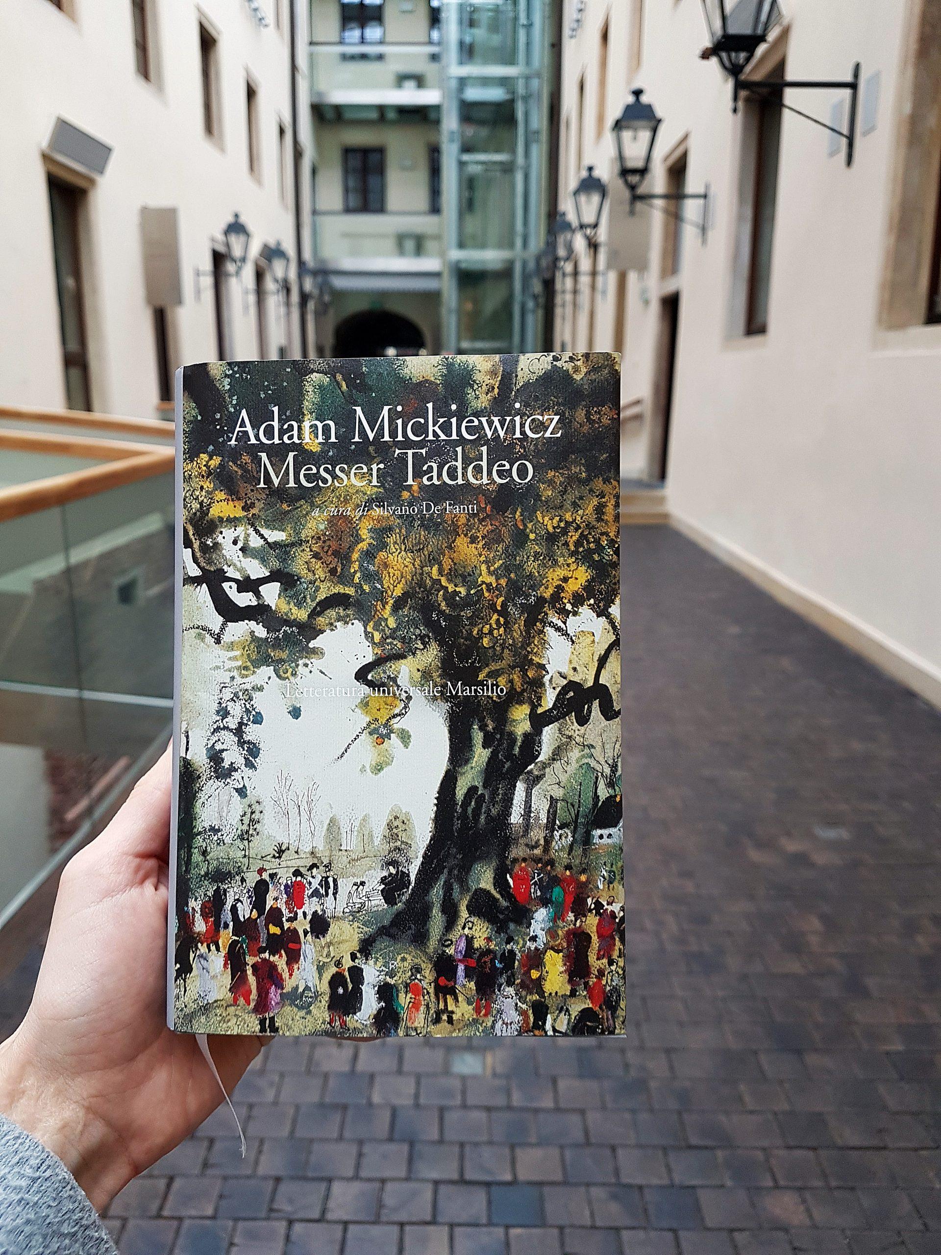 """Pan Tadeusz"", tłum.  Silvano De Fanti, wyd. Marsilio, 2018"