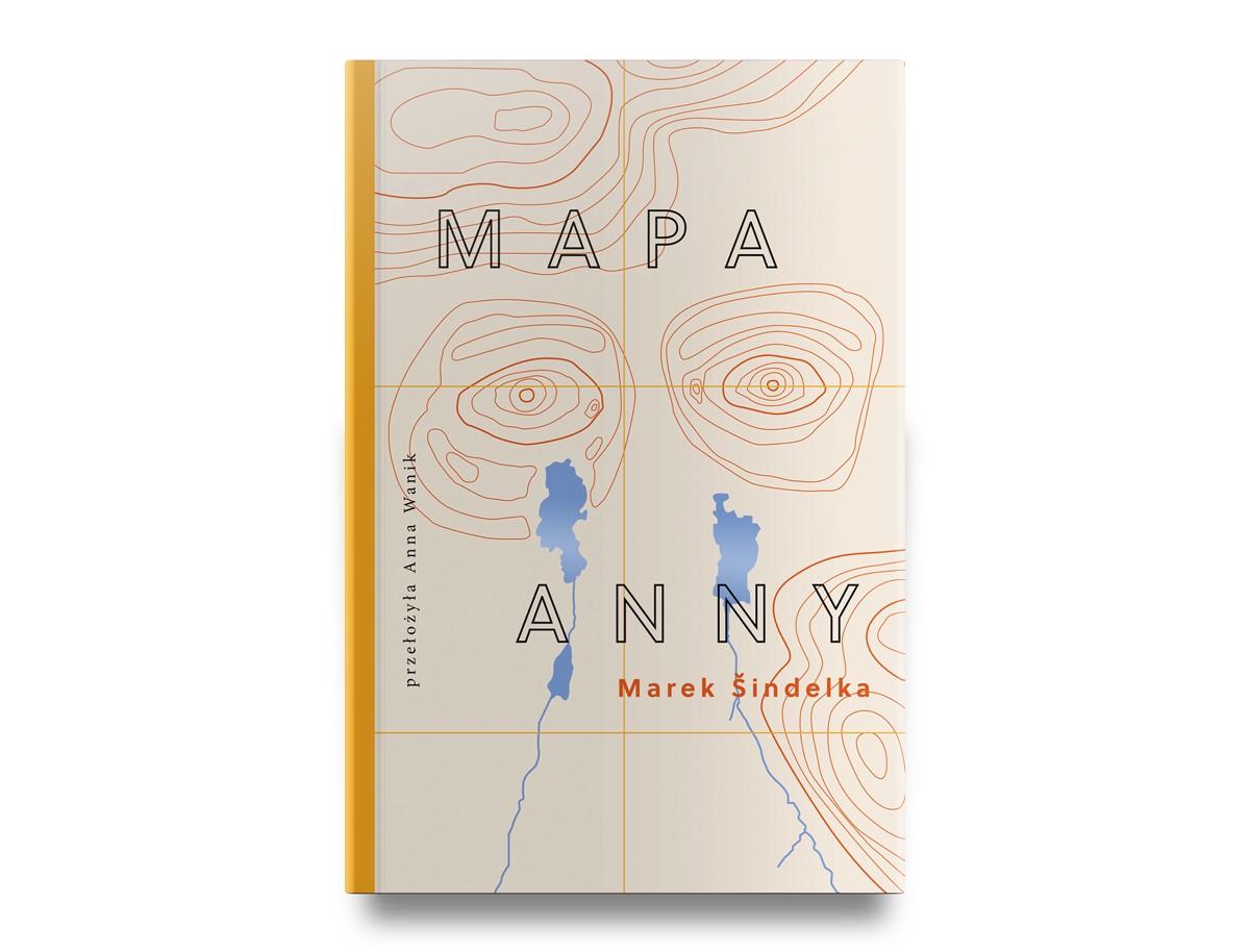 """Marek Šindelka, """"Mapa Anny"""", przekład Anna Wanik, Wydawnictwo Afera, 2019"""
