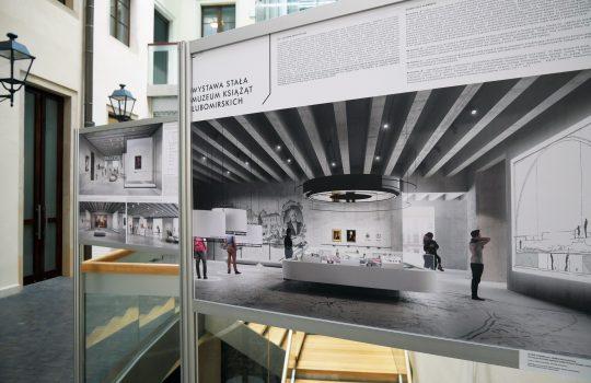 Wystawa pokonkursowa dotycząca aranżacji Muzeum Książąt Lubomirskich