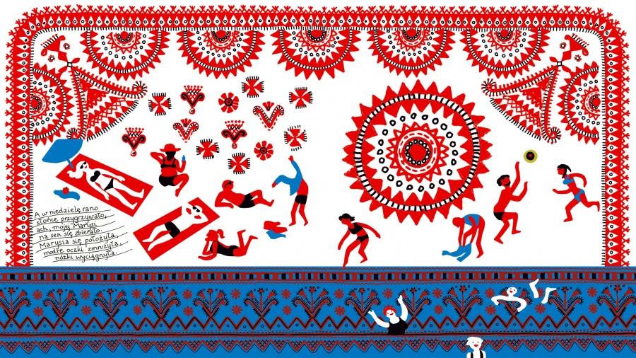 WODA – życie, mit, ruch. Marianna Oklejak, Cuda wianki. Polski folklor dla młodszych i starszych, Egmont, 2015