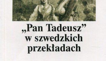 """Szwedzkie przekłady """"Pana Tadeusza"""""""