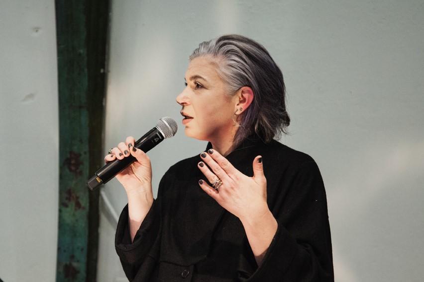 Maria Hlavajova, photo by Tarona Leonora, 2017