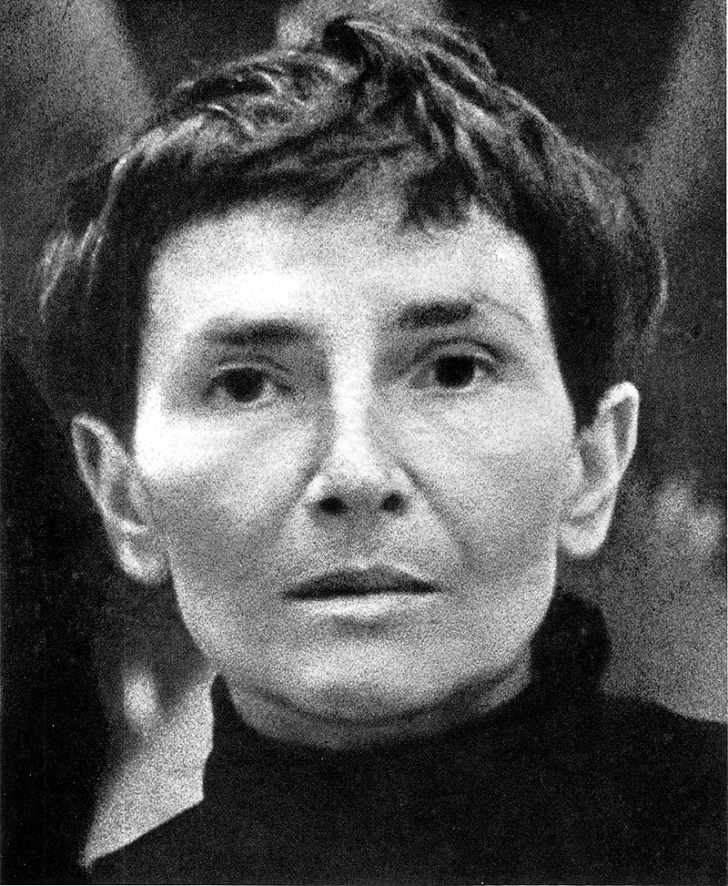 Maria Jarema, fot. Tadeusz Rolke, źródło: Wikipedia
