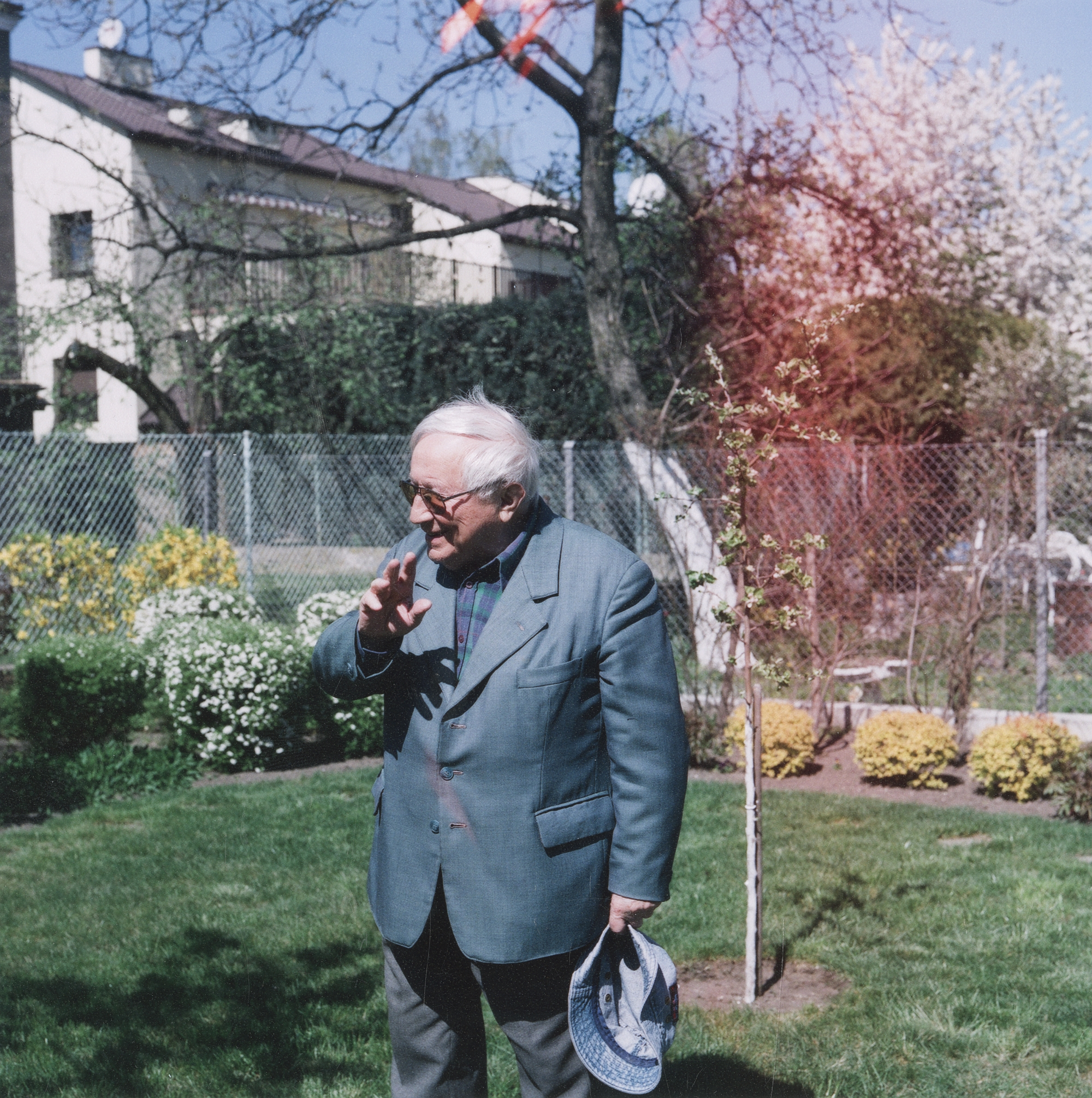 Tadeusz Różewicz, 16 kwietnia 2007, fot. Janusz Stankiewicz