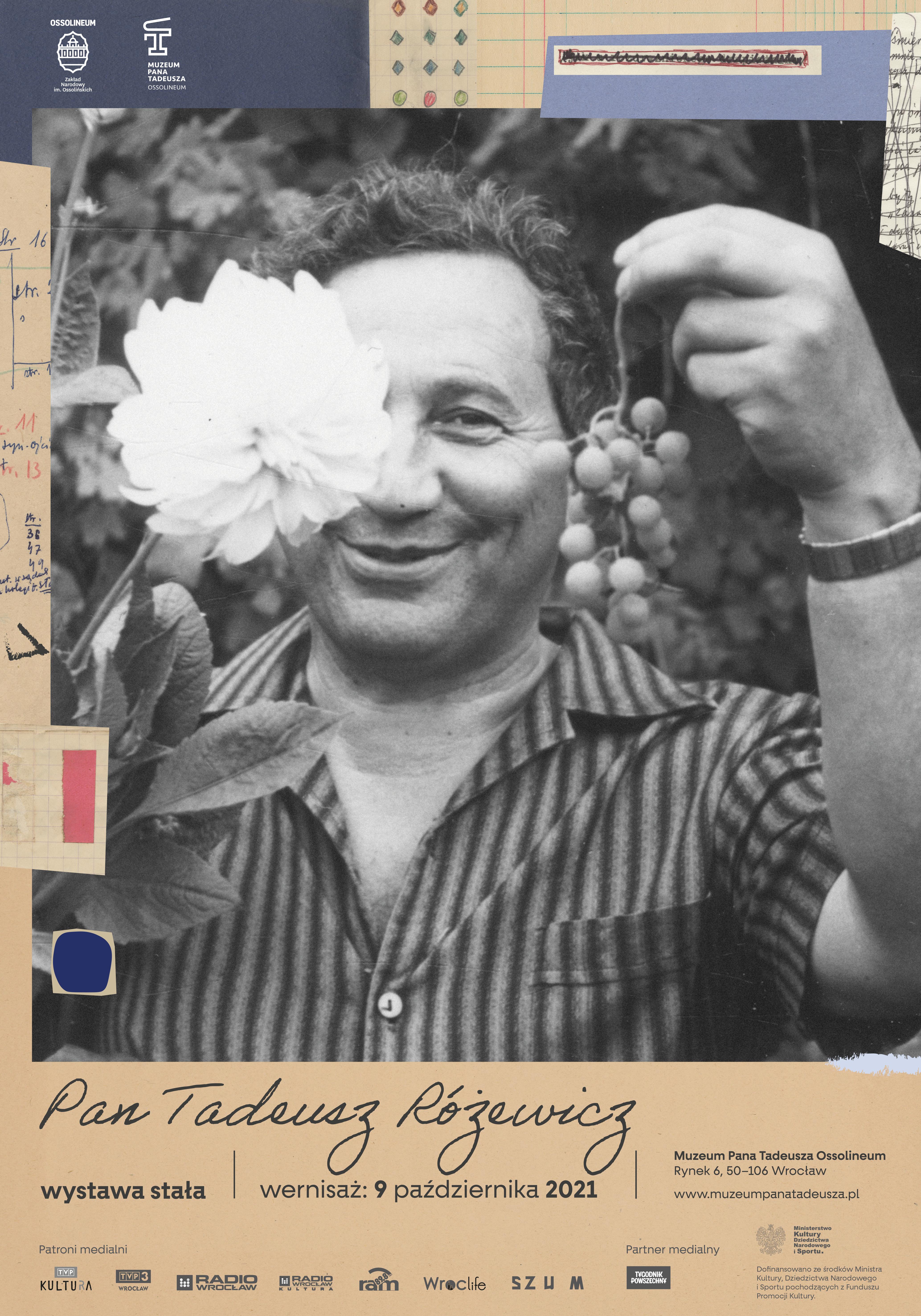 Pan Tadeusz Różewicz, plakat pion