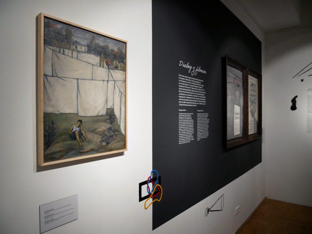 """Wystawa """"Pan Tadeusz Różewicz"""", fot. Adriana Myśliwiec"""