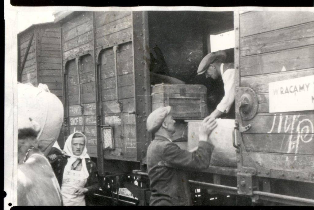 Repatriacja ludności na Ziemie Odzyskane, kwiecień–wrzesień, 1945, Dział Dokumentów Życia Społecznego ZNiO